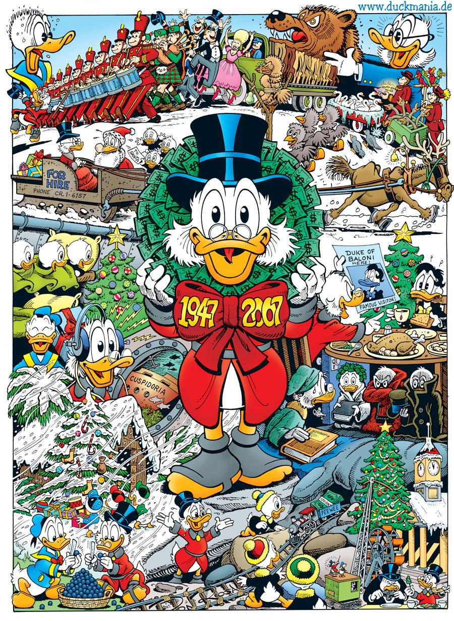 Uncle Scrooge Cartoon